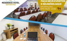 Promova seu evento no Residence Hotel Imperatriz