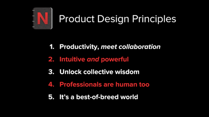 articulating your product design principles sachin rekhi