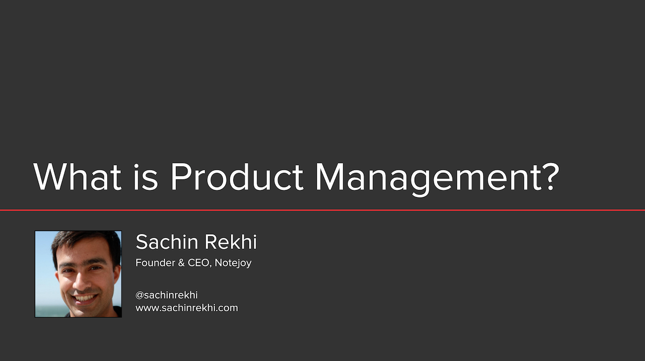 What is Product Management?