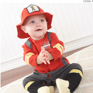 Baby Firefighter 2-Piece
