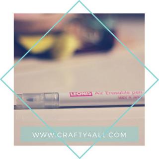 قلم قماش يمسح مع الماء LEONIS 30 Air Erasable
