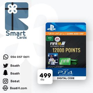بطاقة بوينت فيفا 18 - 12000 بوينت