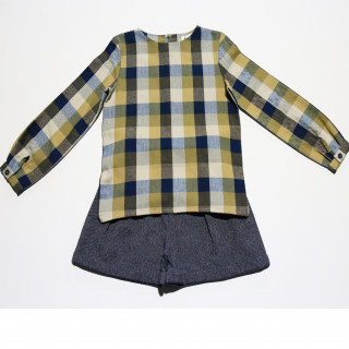 GW18201-26 Shirt & short