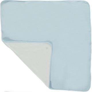 Interlock Blanket Blue