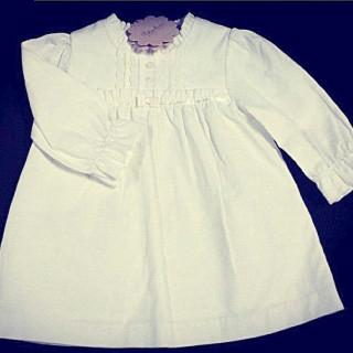 DRESS- OFF WHITE
