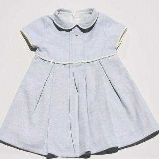 DRESS- MELANGE BLUE