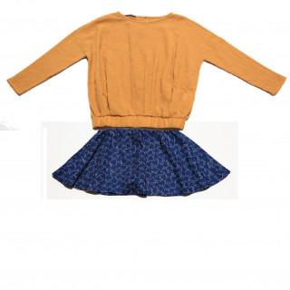 GW18204-23 Sweater & skirt