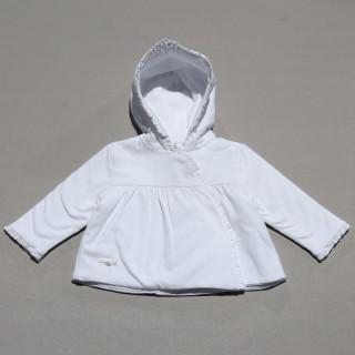 Baby jacket- white