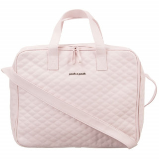 SUITCASE PADDED PINK INES