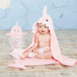 Four-Piece Bathtime Gift Set (Pink)
