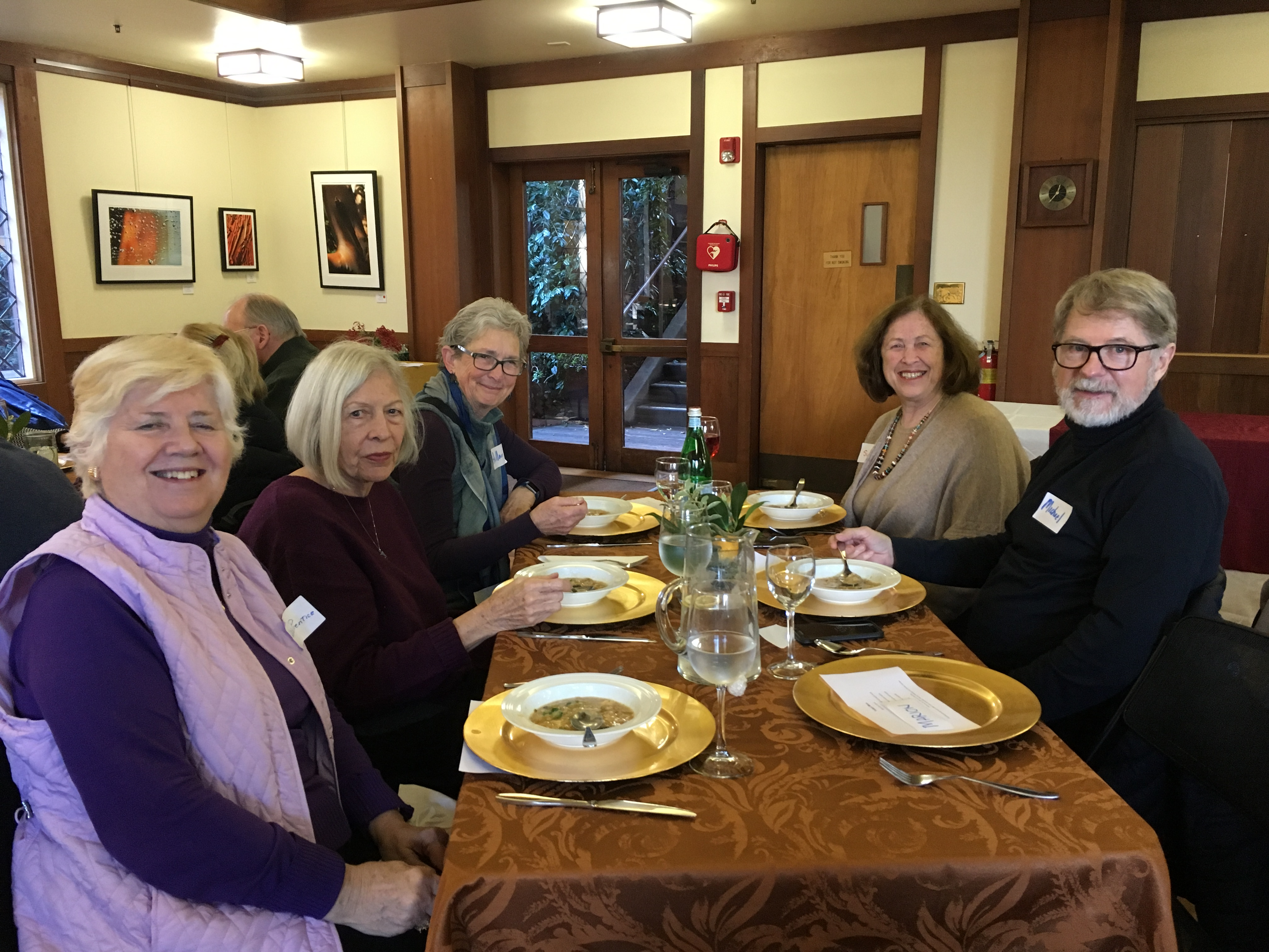 Lunch About Town at Sausalito Presbyterian Church picture