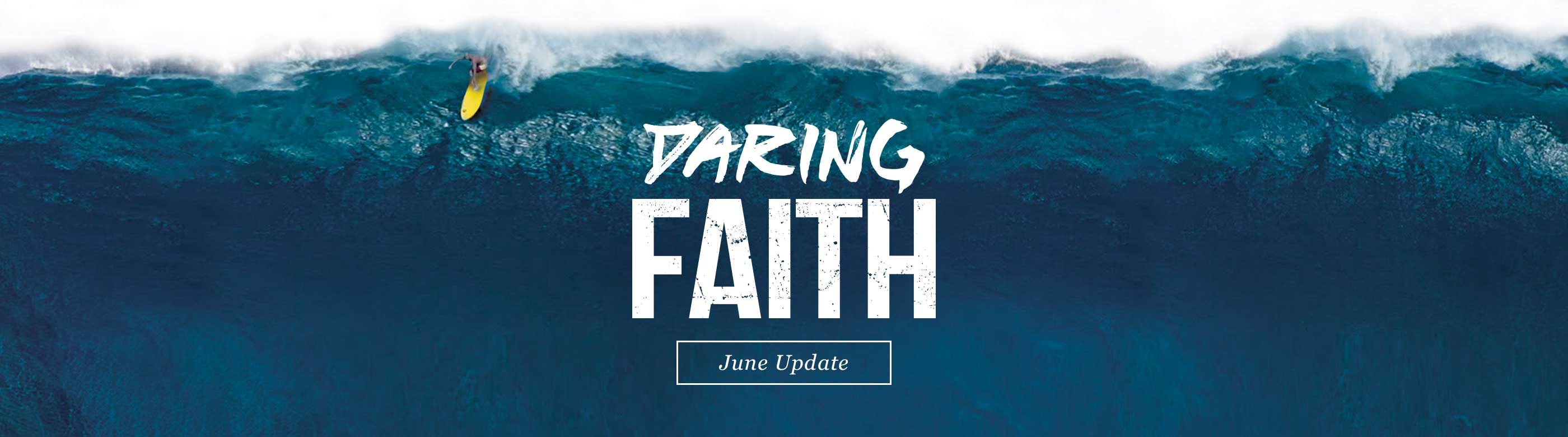 Daring Faith Giving Campaign