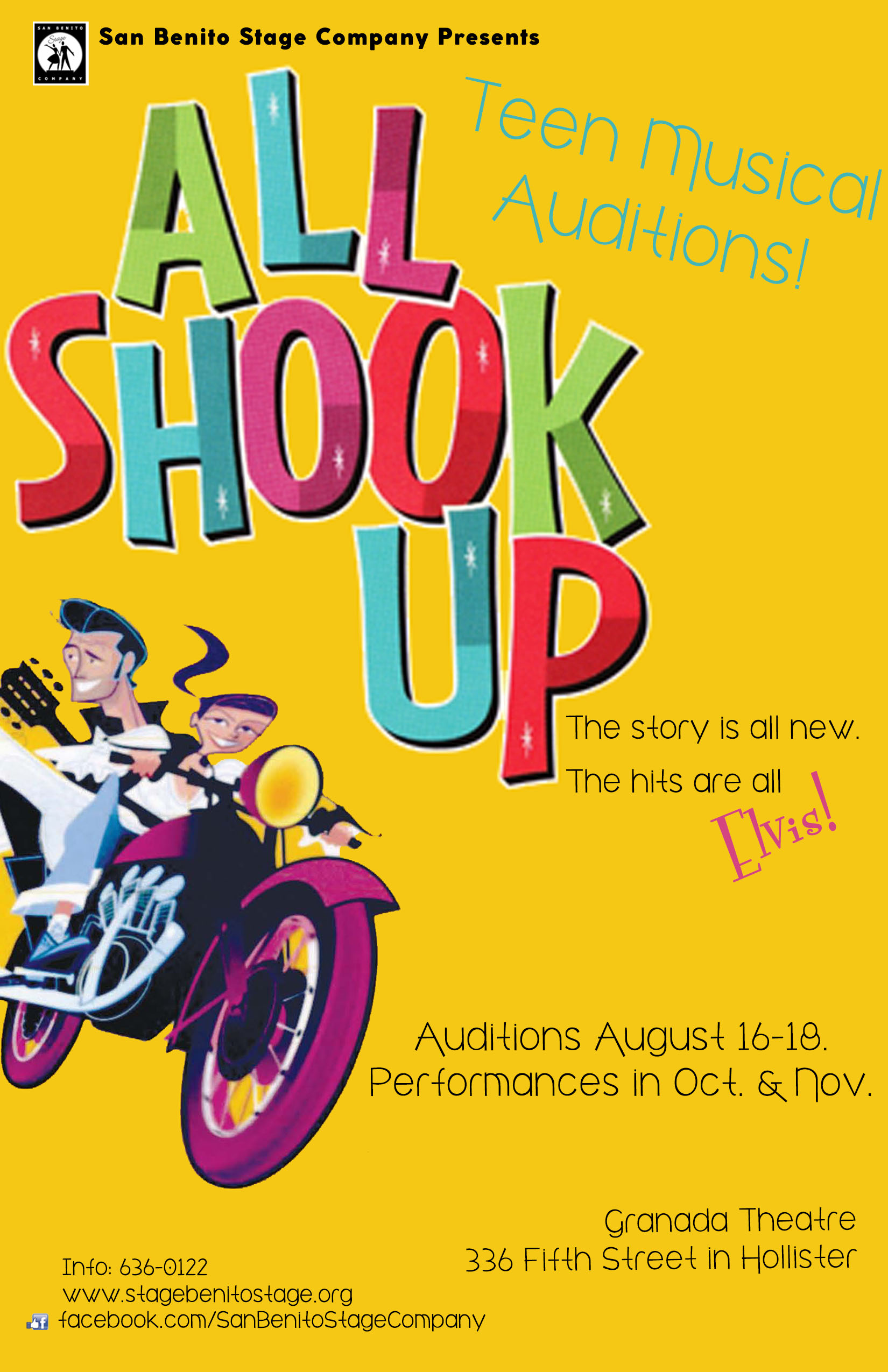 All Shook Up Audition