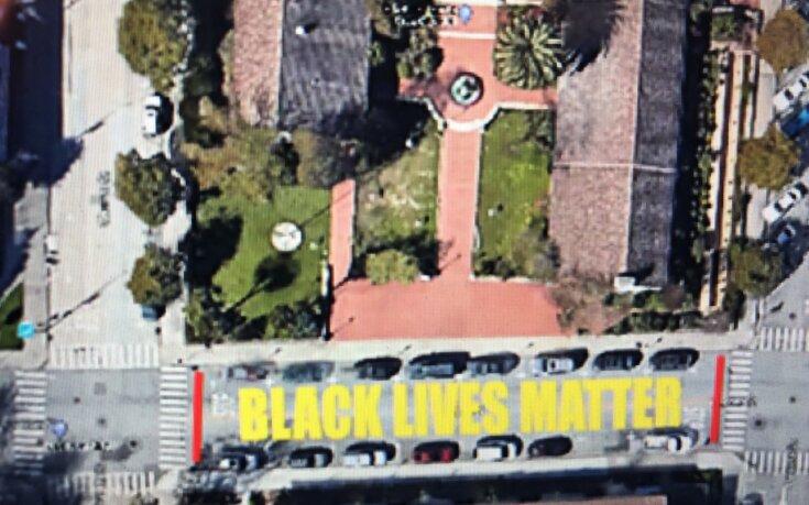 Arts Commission Votes to Support of Black Lives Matter Mural in Santa Cruz