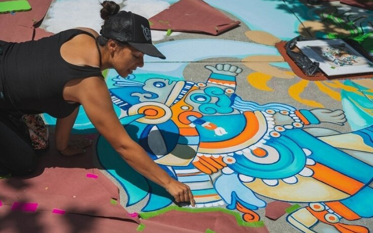 Storm Drain Mural Pilot Program a Success - Thanks to amazing artists and involved neighbors!