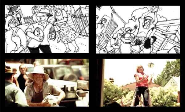 storyboard artist - Dean Mortensen - frames