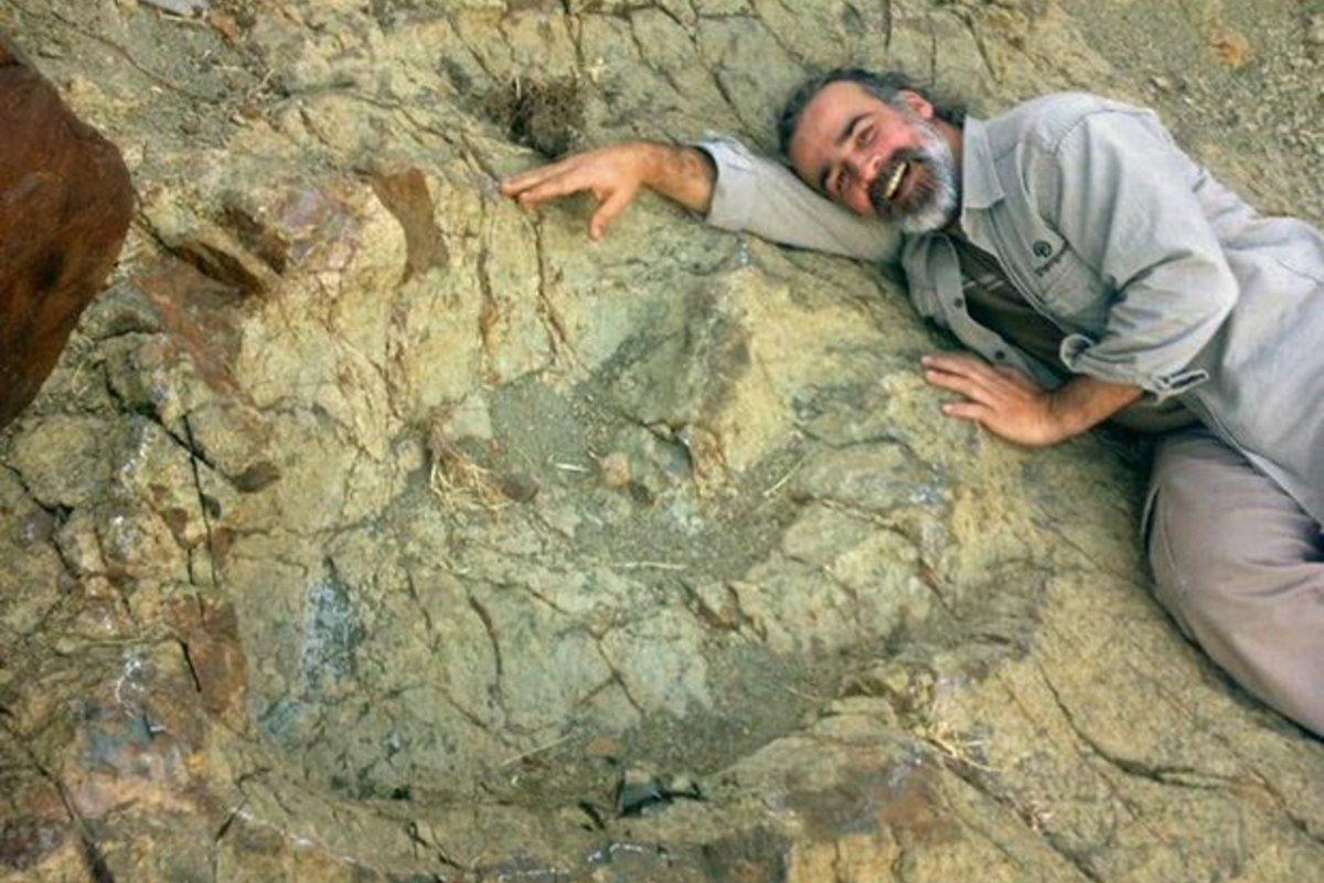 Abelisaur footprint