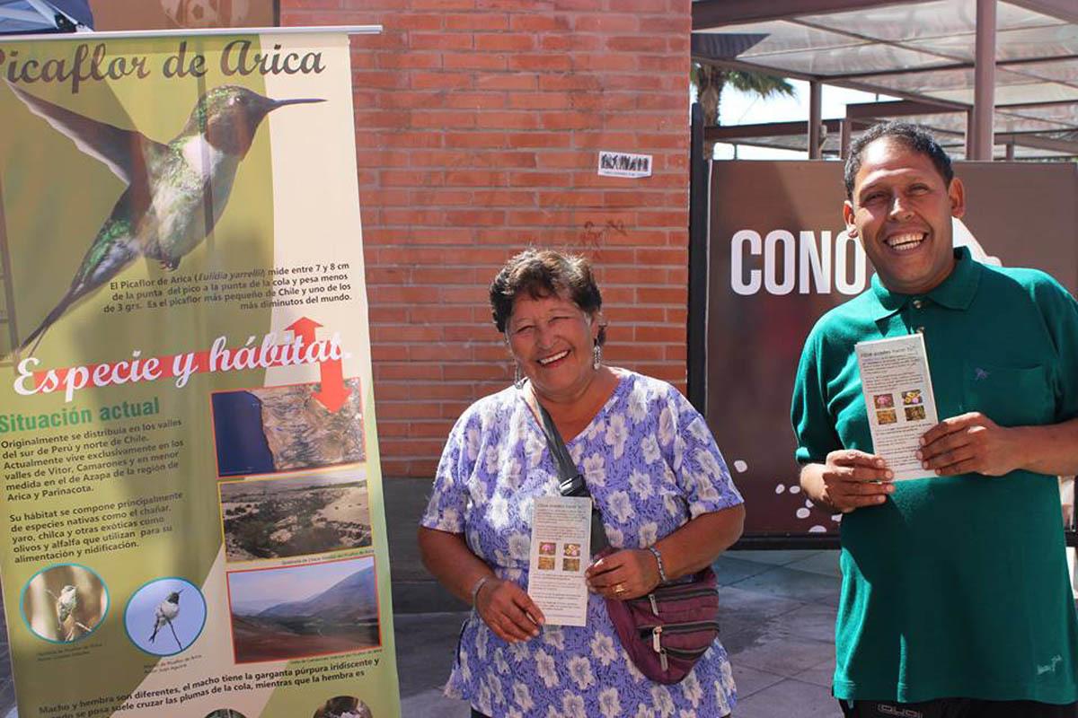 Awareness activities with Arican people