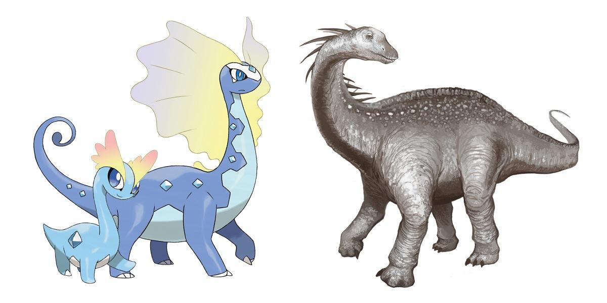 Amaura and Aurorus: Amargasaurus