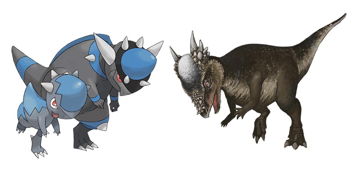 Cranidos and Rampardos: Pachycephalosaurus