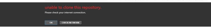 github error
