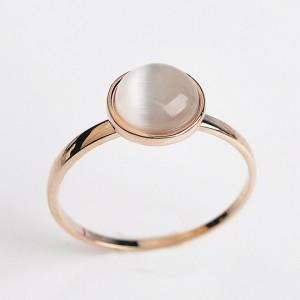 Opal Ring - 18k Rose Gold Plated