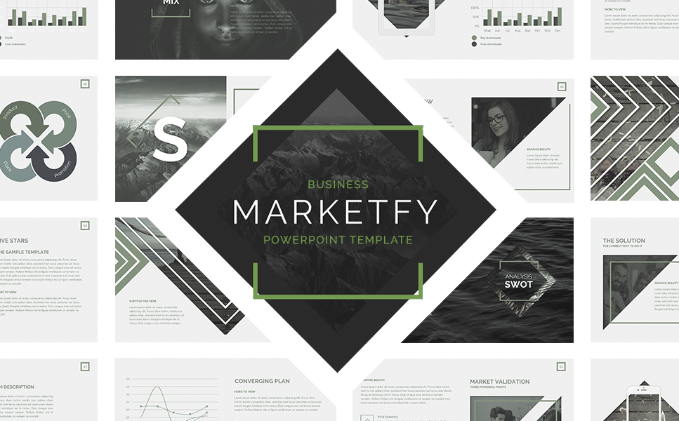Marketfy Powerpoint Presentation PowerPoint Template
