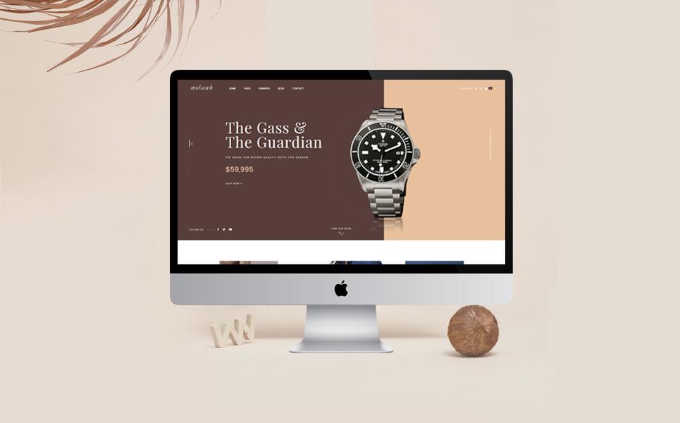 Magento тема магазин обуви №64453 Большой скриншот
