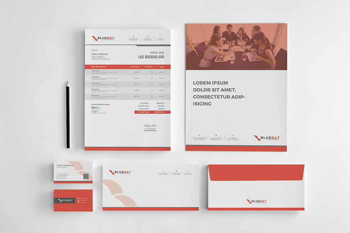 Bluebat Corporate Identity