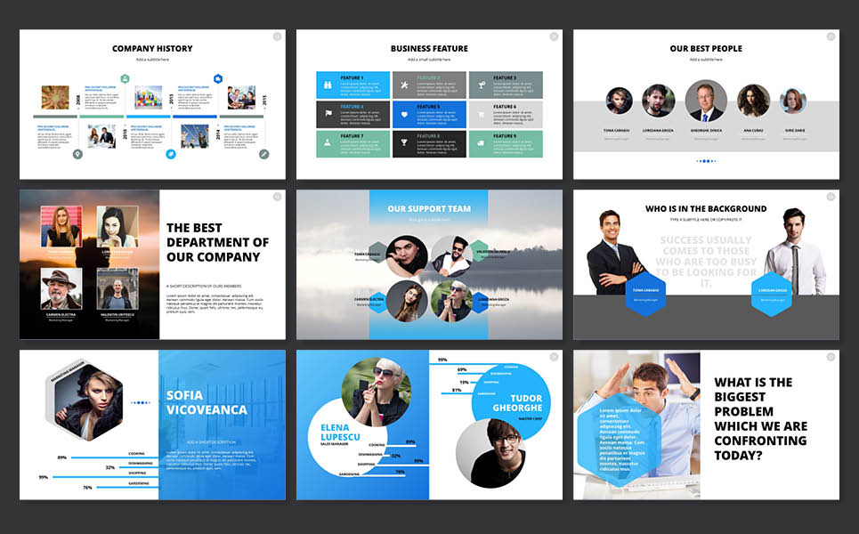 Cafe And Restaurant PowerPoint Template | Website Templates