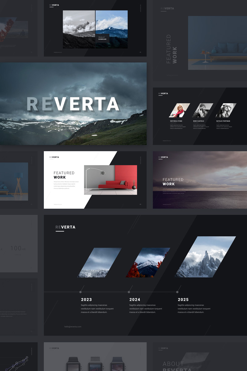 Reverta PowerPoint Template PowerPoint Template