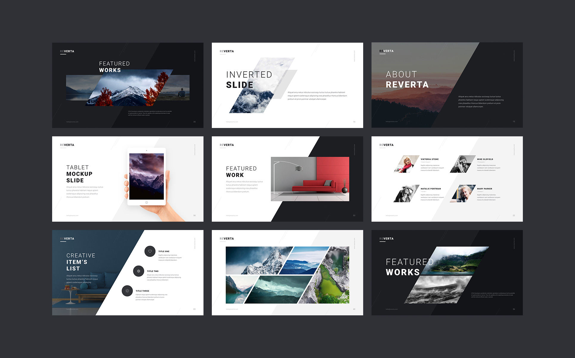 Reverta PowerPoint Template