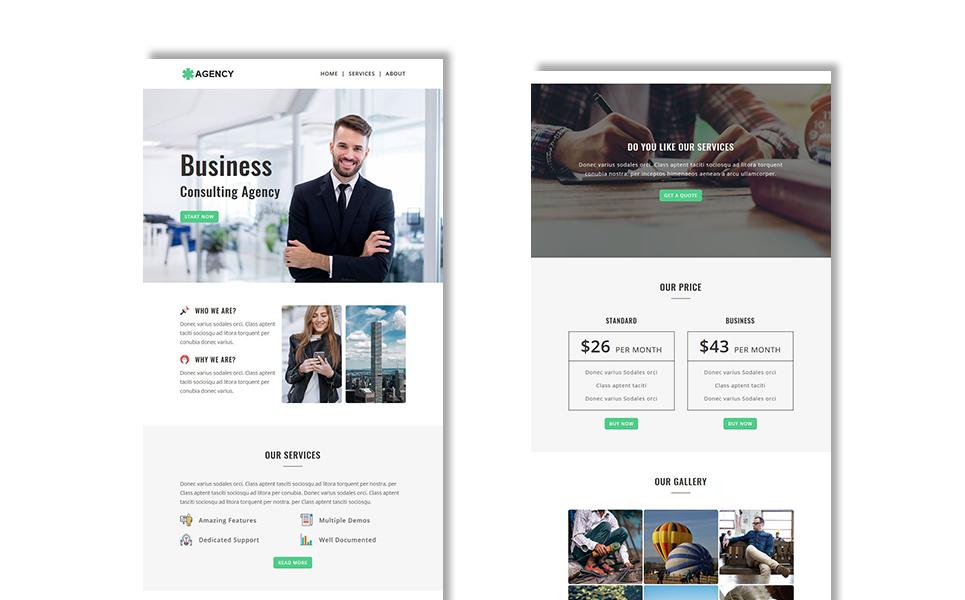 Agency - Multipurpose Responsive Newsletter Template