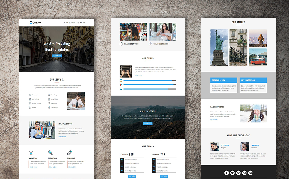 Corporate - Multipurpose Responsive Newsletter Template