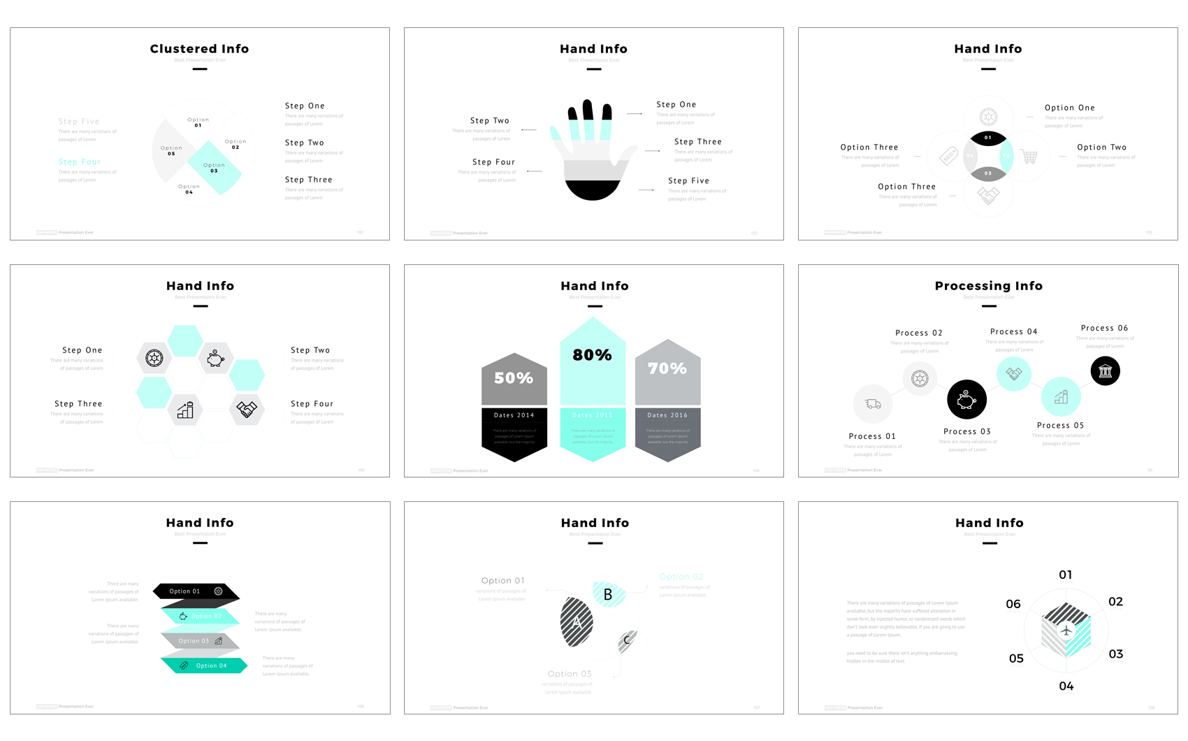 Universe PowerPoint Template #64464