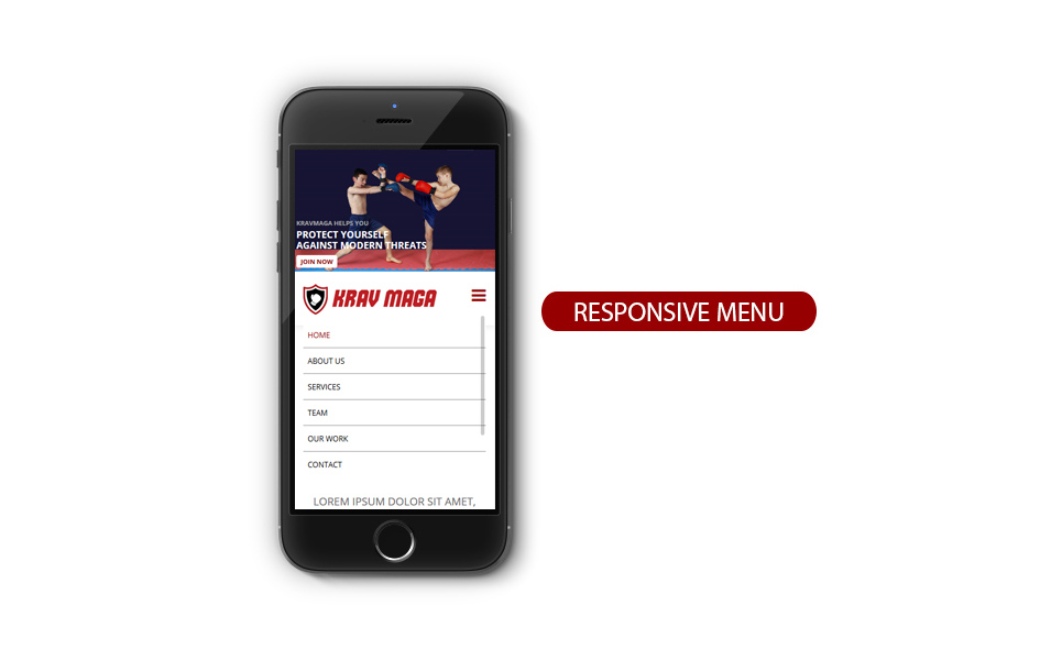 Responzivní Joomla šablona na téma Sport