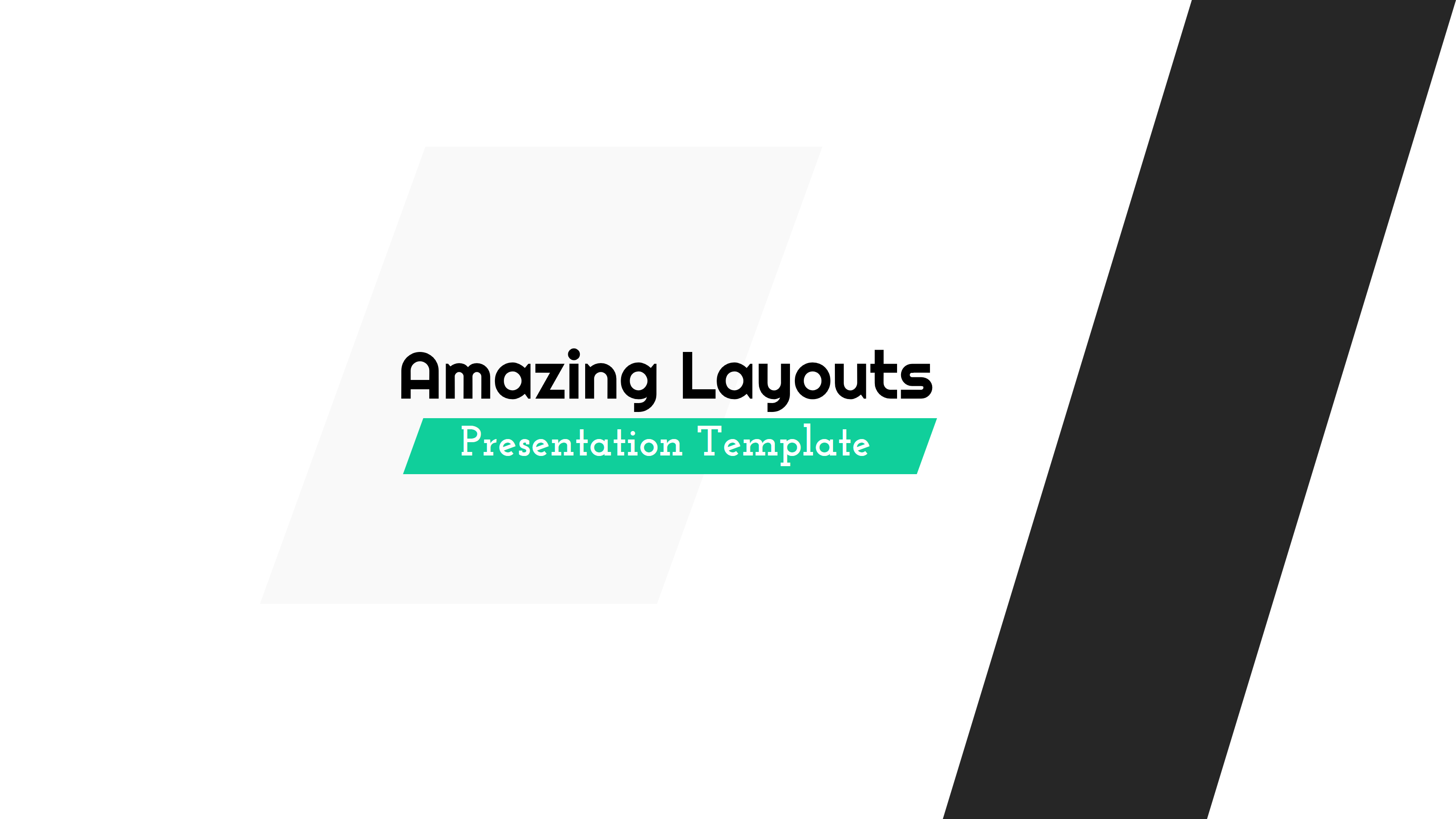 Amazing Layouts - PowerPoint Template