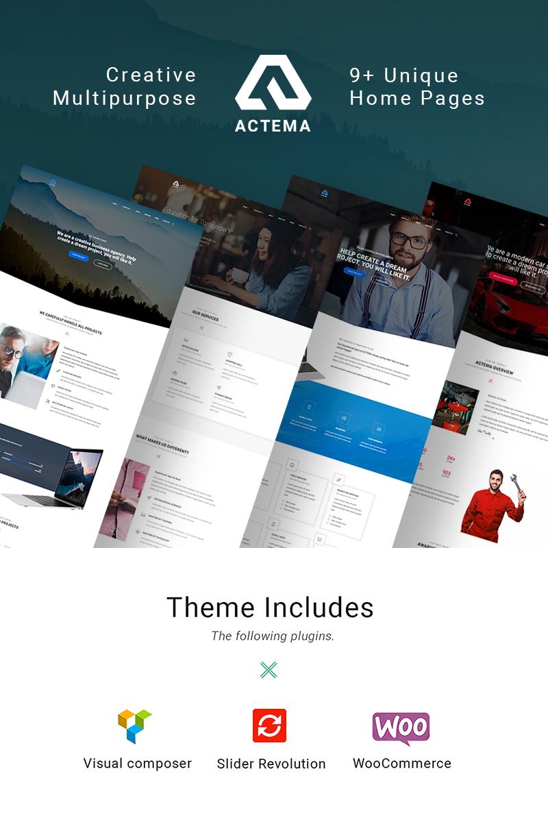 Bootstrap Egészségügy  WordPress sablon Nagy méretű képernyőkép