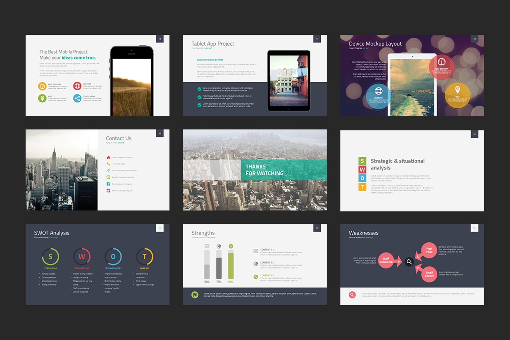 Albireo Powerpoint Template PowerPoint Template