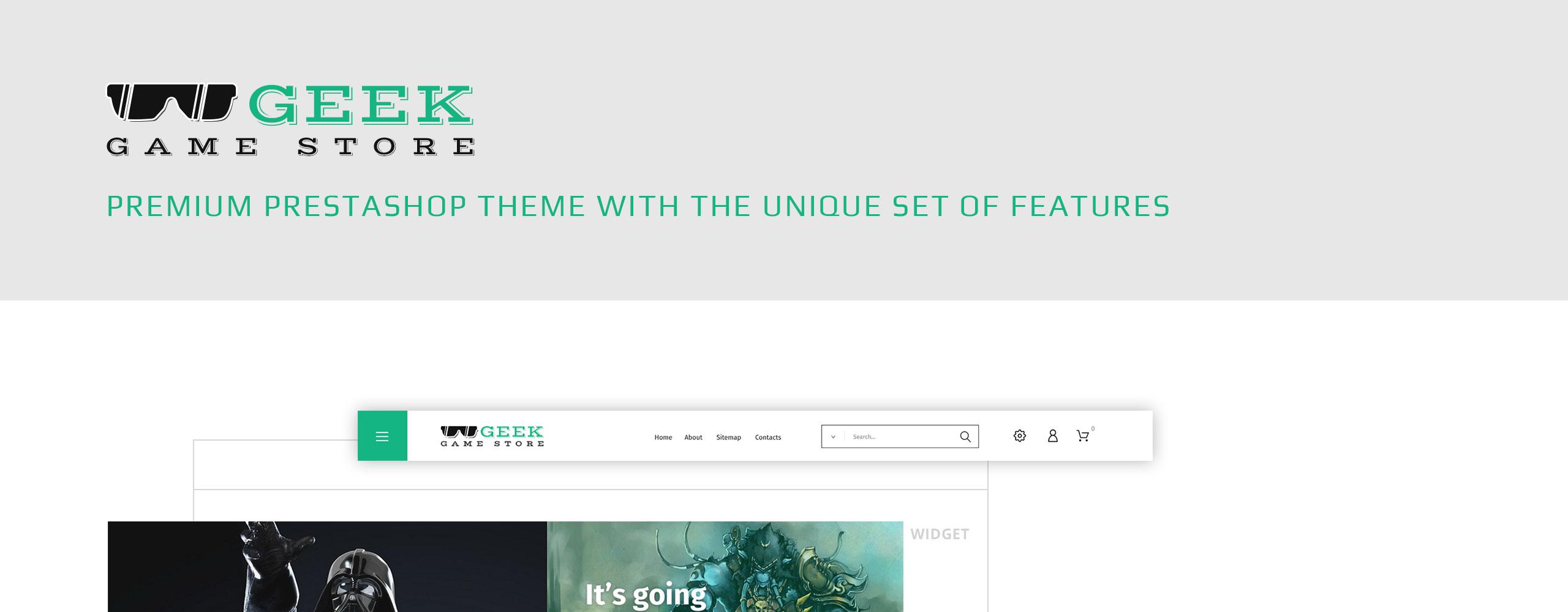 Geek - Game Store PrestaShop Theme