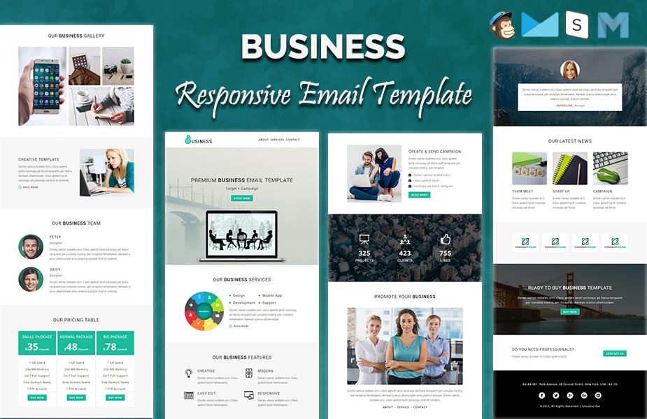 Шаблон E-mail розсилки на тему веб дизайн