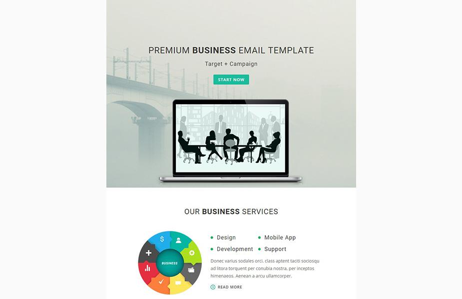 Template de Newsletter para Sites de Web Design №64535