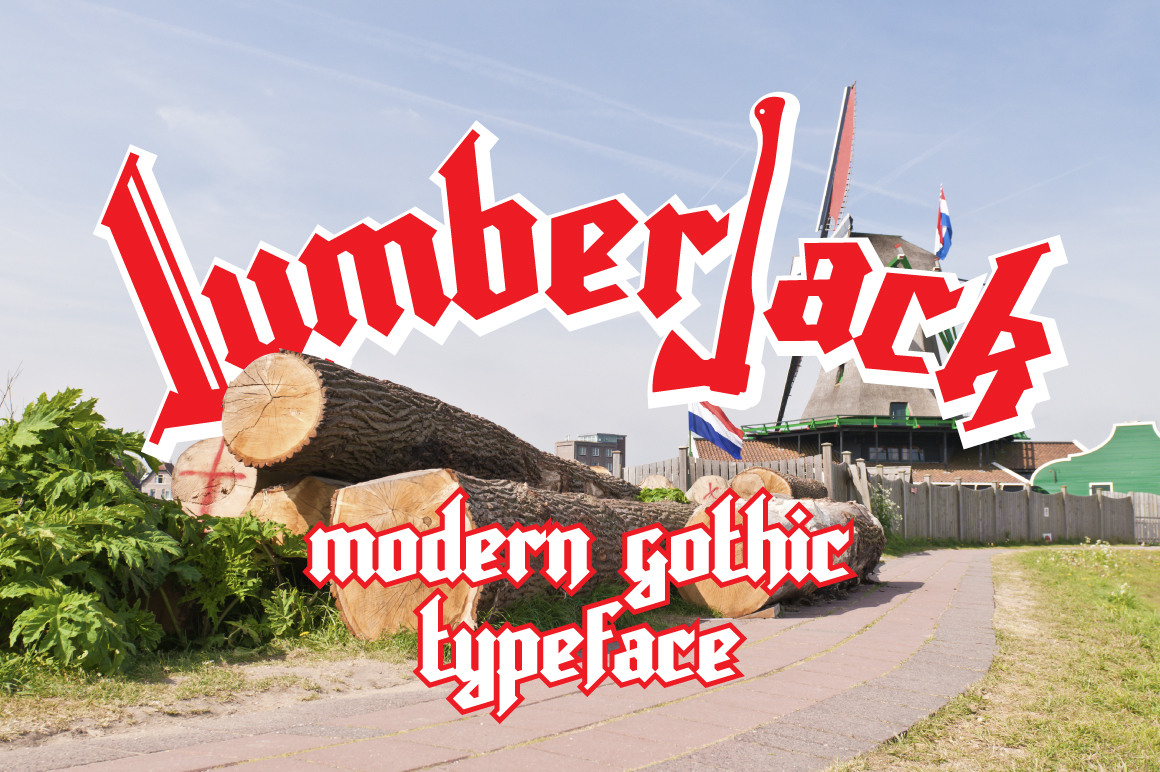 Lumberjack Font Big Screenshot