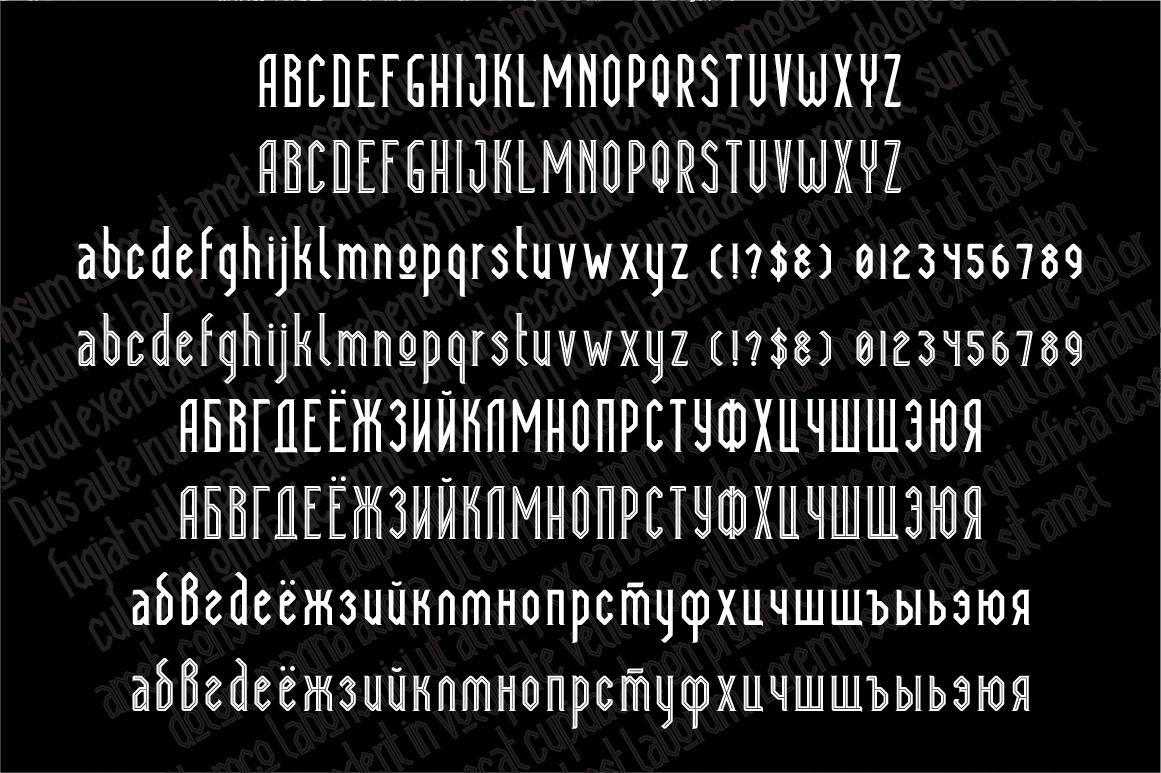 Megapolis Font Big Screenshot