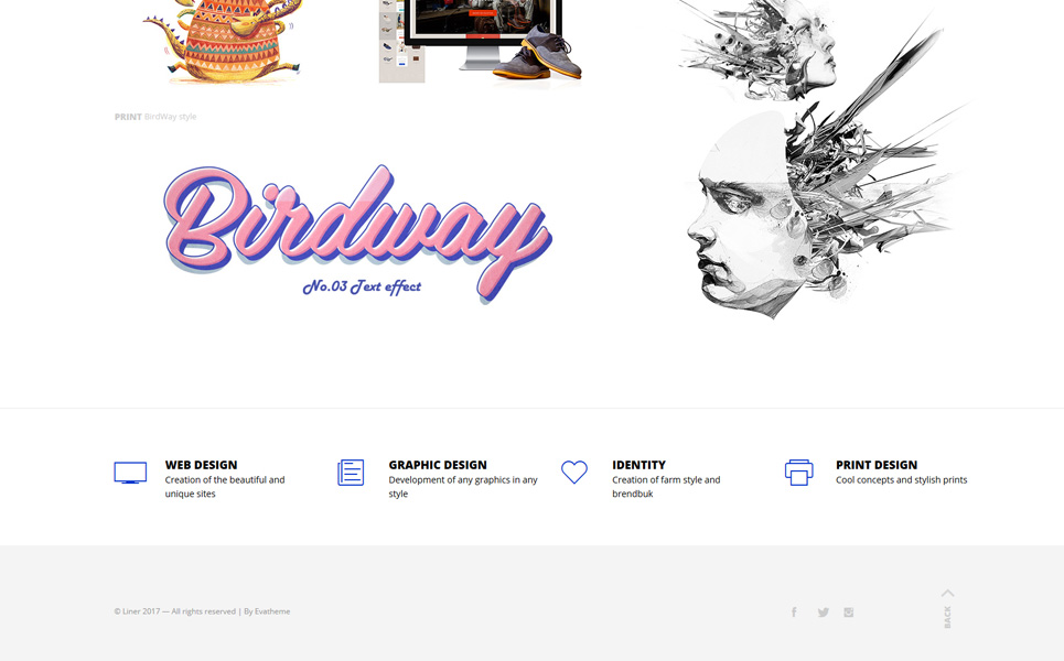 Tema WordPress Flexível para Sites de Galerias de Arte №64740