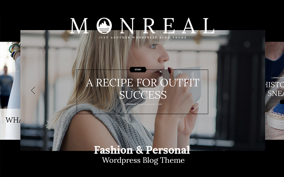 Tema WordPress Flexível para Sites de Blog de Moda №64633