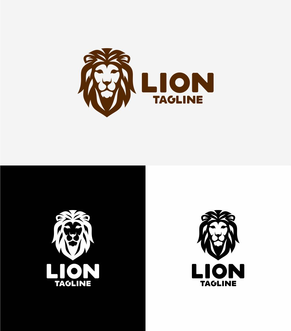 Lion Logo Template Big Screenshot