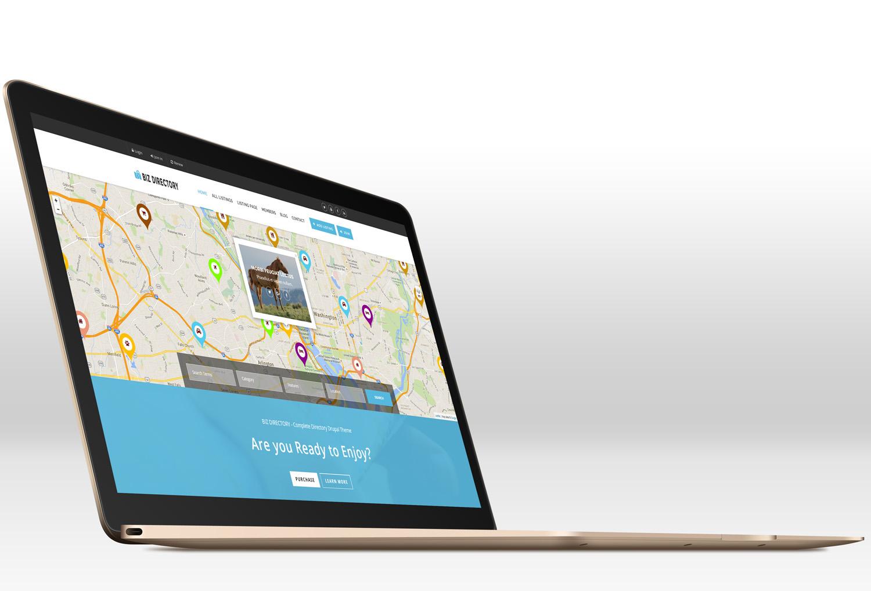 Адаптивний Drupal шаблон на тему бізнес послуги Великий скріншот