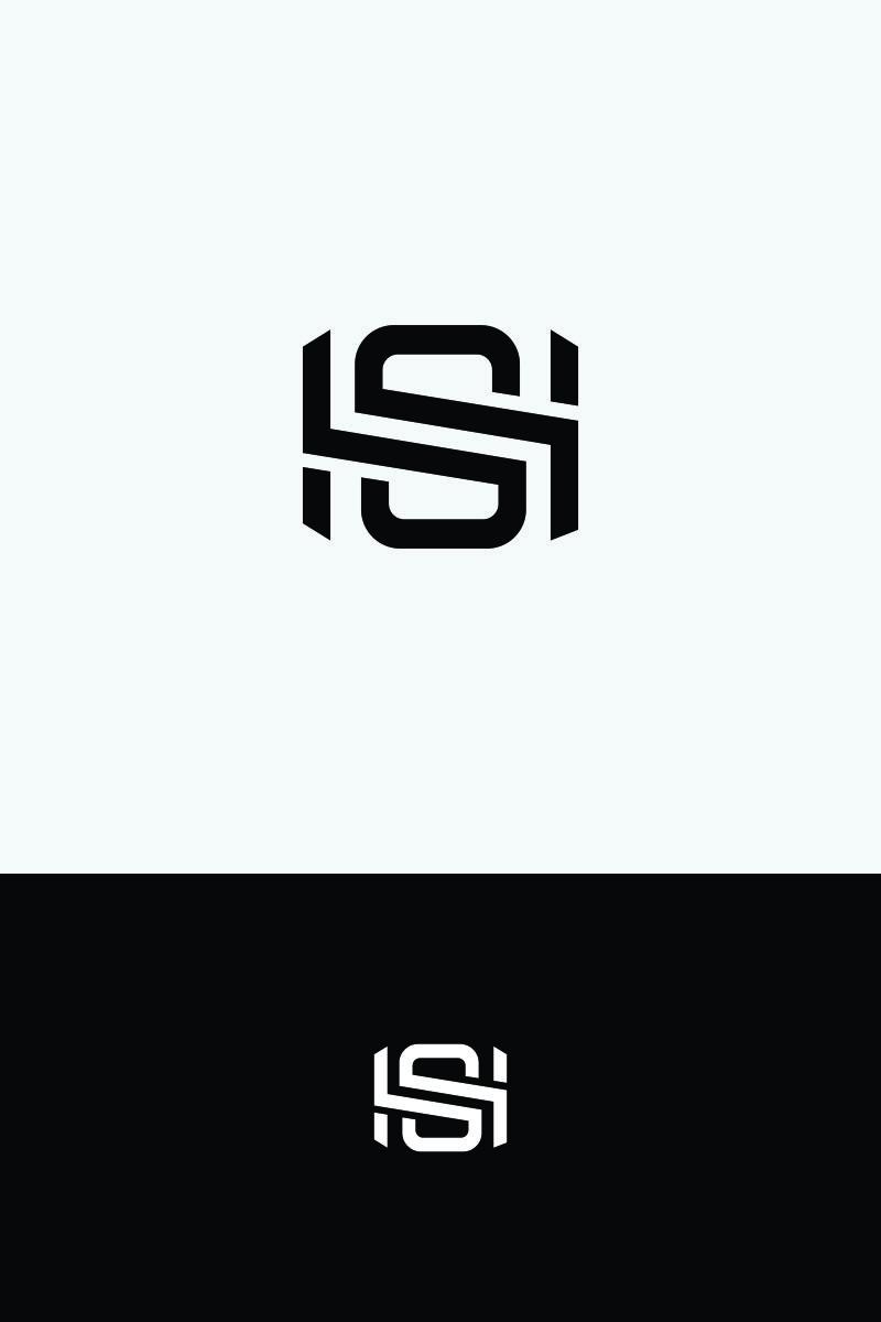 SH Letter Logo Template