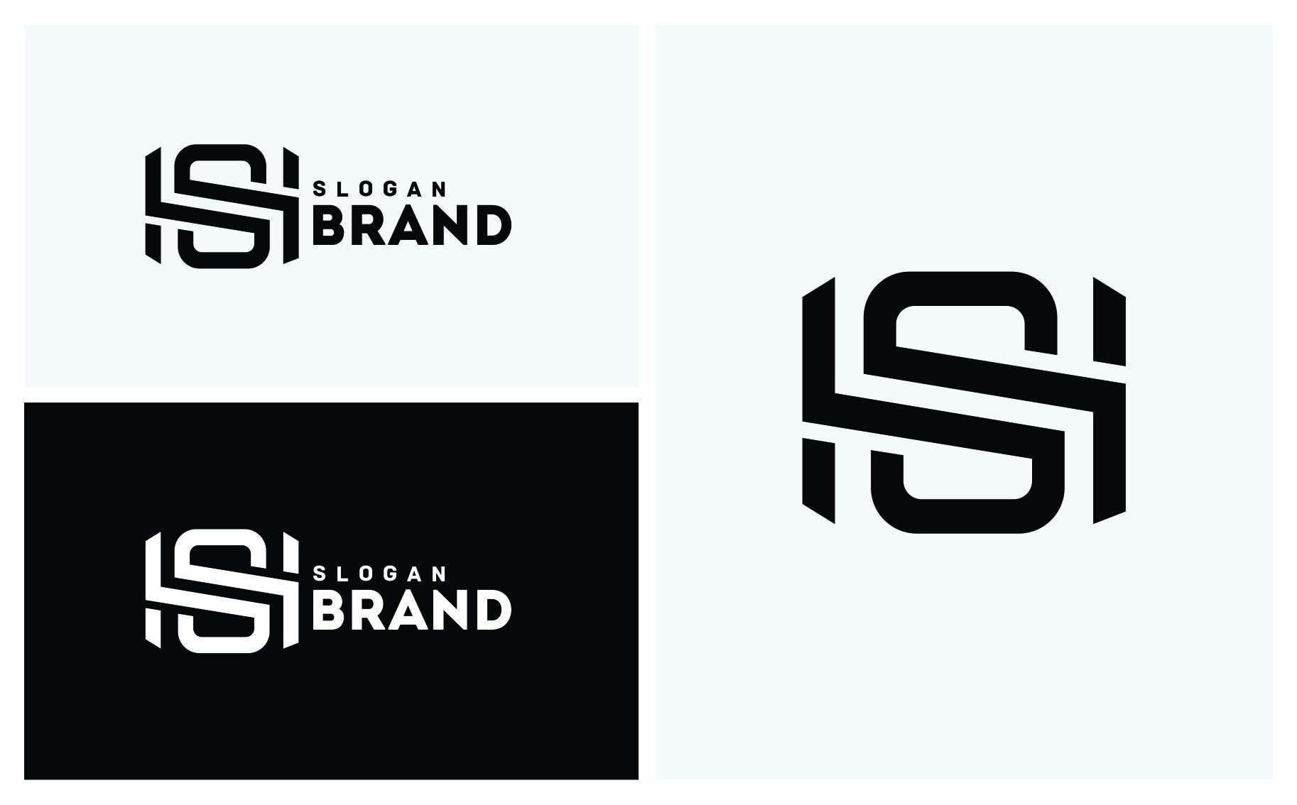 SH Letter Logo Template Big Screenshot